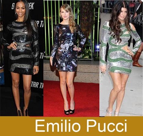 Vestidos Paillettes de Emilio Pucci