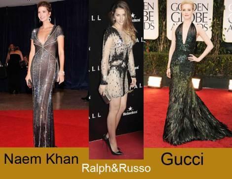 Gucci,Ralph&Russo y Naem Khan