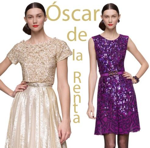 Oscar de la Renta Sequin