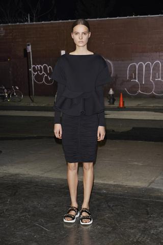 Vestido Negro Givenchy Spring 2013