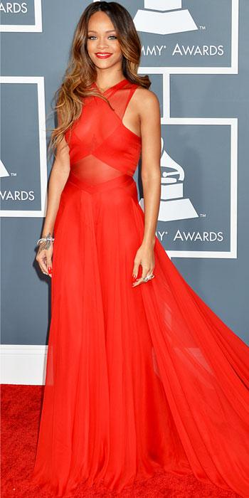 Rihanna at Grammy Awards 2013