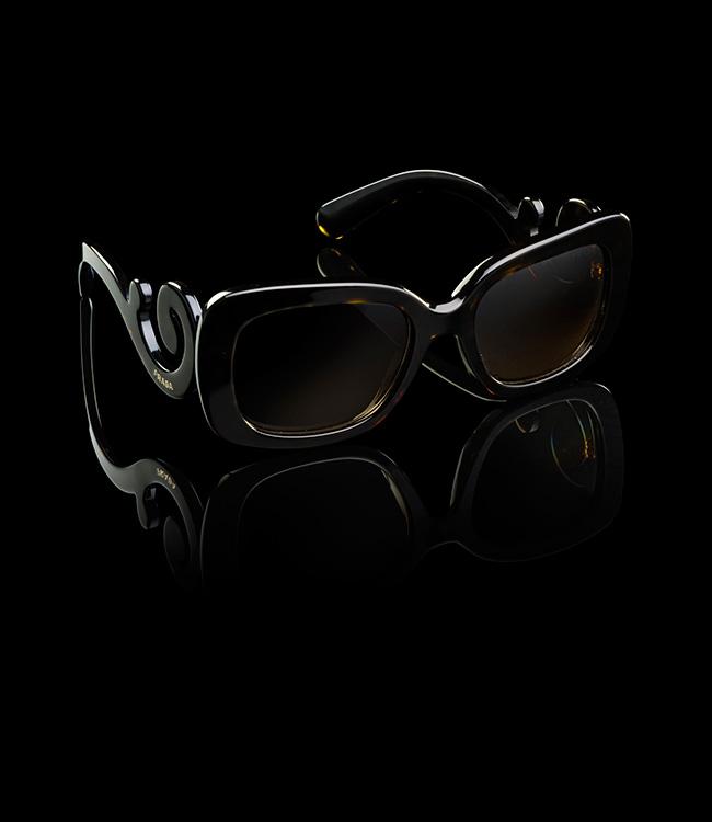 yeswetrend. Gafas de Prada Barrocas Cuadradas