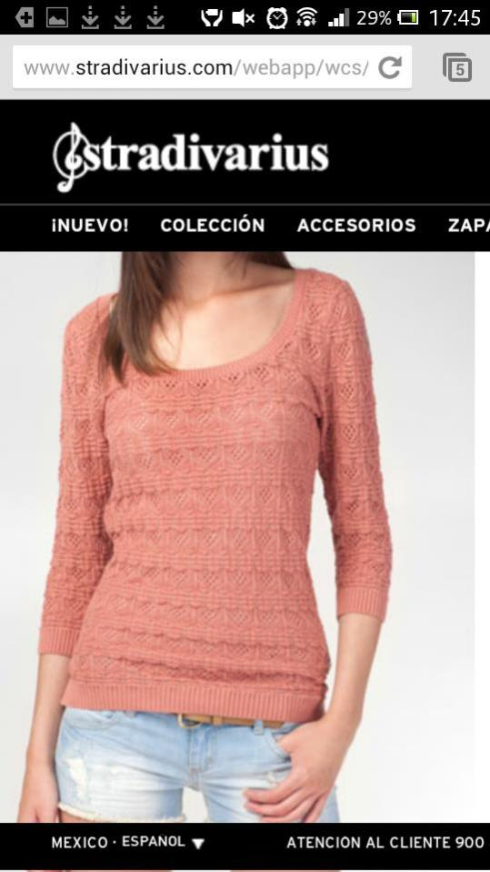 YesWeTrend-Coral-Stradivarius