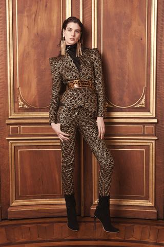 YesWeTrend- Balmain - París Fashion Week prefall2013