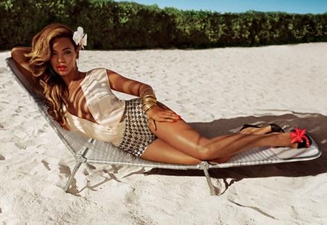 YesWeTrend- Beyoncé nueva imagen de H&M, verano 2013. Foto: H&M