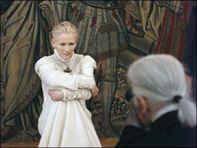 Tilda Swinton nueva imagen de Chanel