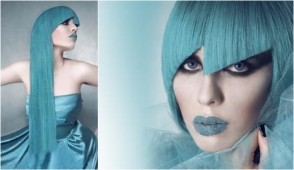 Moda primavera verano 2013:azul turquesa