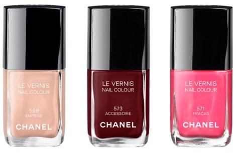 Chanel Spring 2013 Nail Polish