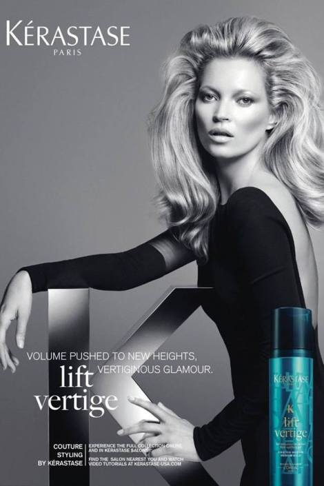 Kate Moss, la nueva imagen de Kerastase