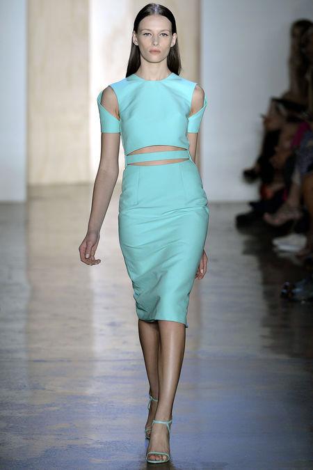 moda primavera verano 2013:Colores it, verde menta