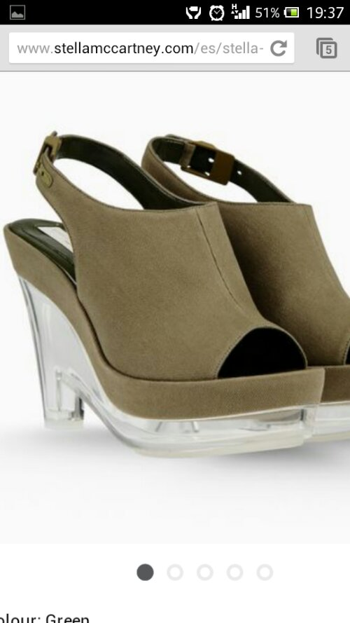 Moda de Verano 2013:Nuevas Sandalias de Stella McCartney.