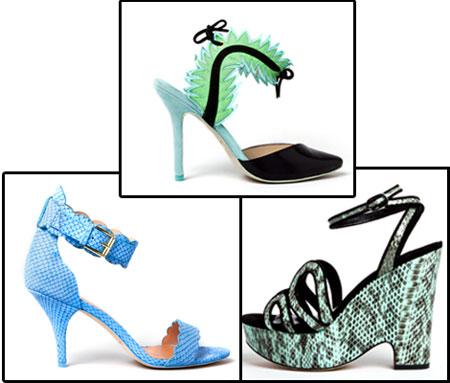 Moda de verano 2013 : 20 Zapatos y sandalias de tacón (II)