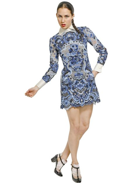 Moda de Verano: Vestidos de guipur y rebajas de verano 2013