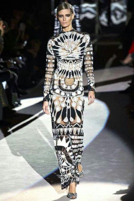 Vestido de Tom Ford, Tendencias Otoño 2013