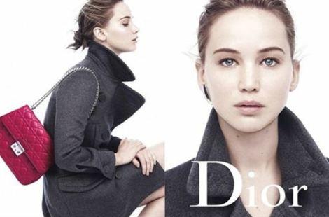 Jennifer Lawrence, al natural para la nueva campaña de Miss Dior
