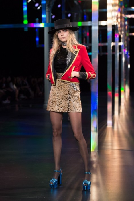 Primavera Verano 2015: Saint Laurent Paris by Hedi Slimane