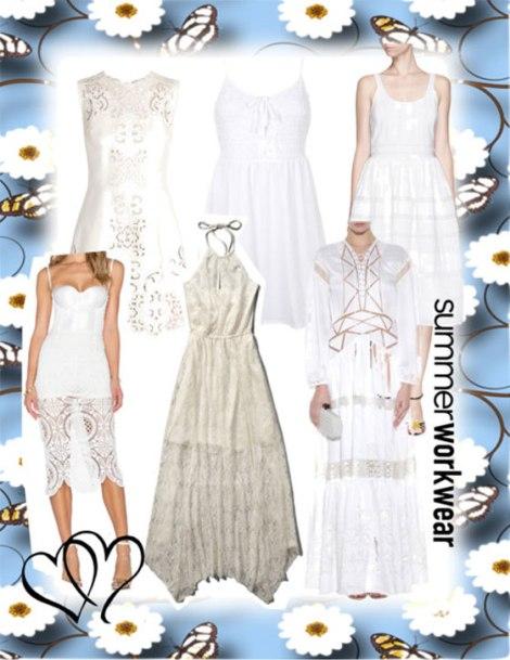 10 vestidos blancos que querrás